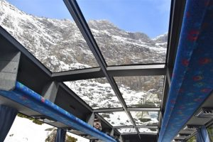 Professional Touring's Luxury Glass Roof Coach